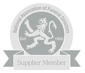 National Association of Funeral Directors Logo on Hayley Pickering Celebrant Website